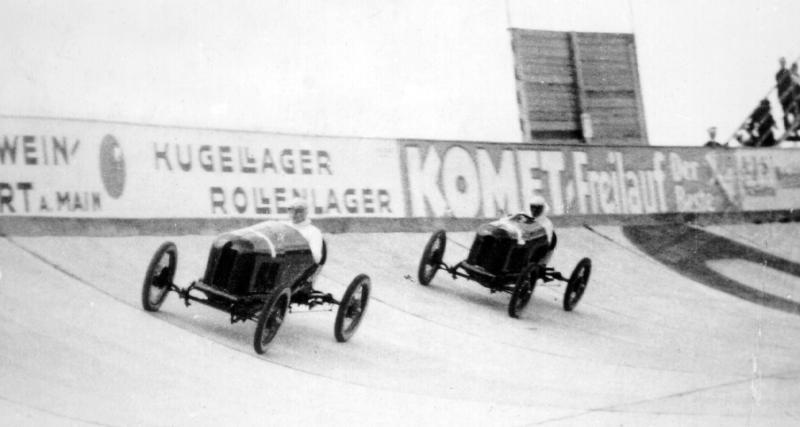 Le premier témoin des courses automobiles sur circuit ?