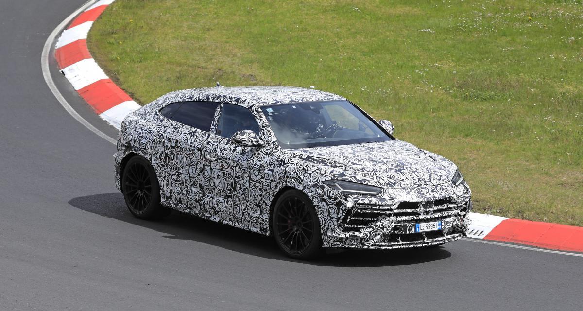 Lamborghini Urus Evo (2022) : une version encore plus radicale du SUV en préparation