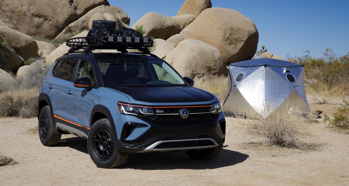 Volkswagen Taos Basecamp Concept : bébé SUV se prend pour un grand franchisseur