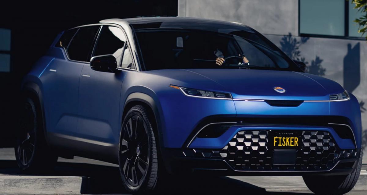 Fisker Ocean : le SUV 100% électrique débarque en France à l'horizon 2023