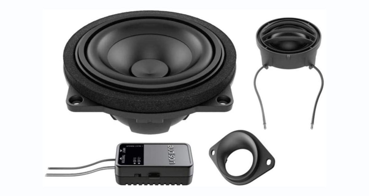 Un kit 2 voies séparées « plug and play » pour les BMW chez Audison