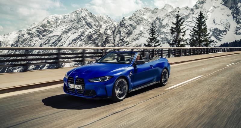 BMW M4 Competition Cabriolet (2021) : un toit rétractable inédit et 510 ch sous le pied droit