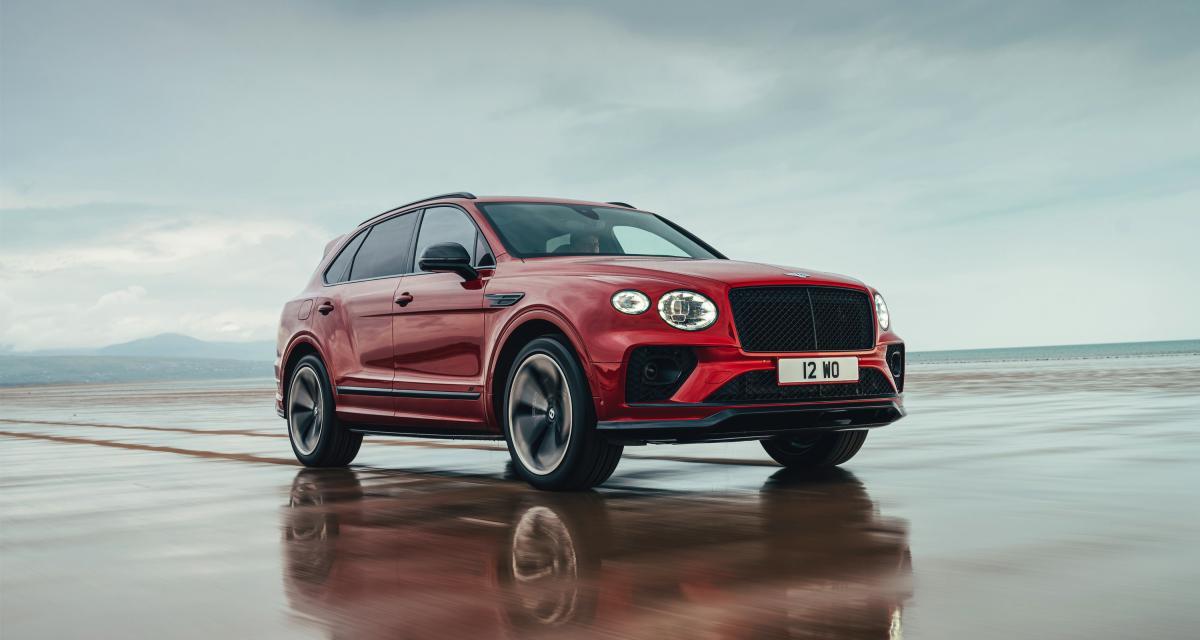 Bentley Bentayga S (2021) : le SUV de luxe s'offre un élégante tenue de sport