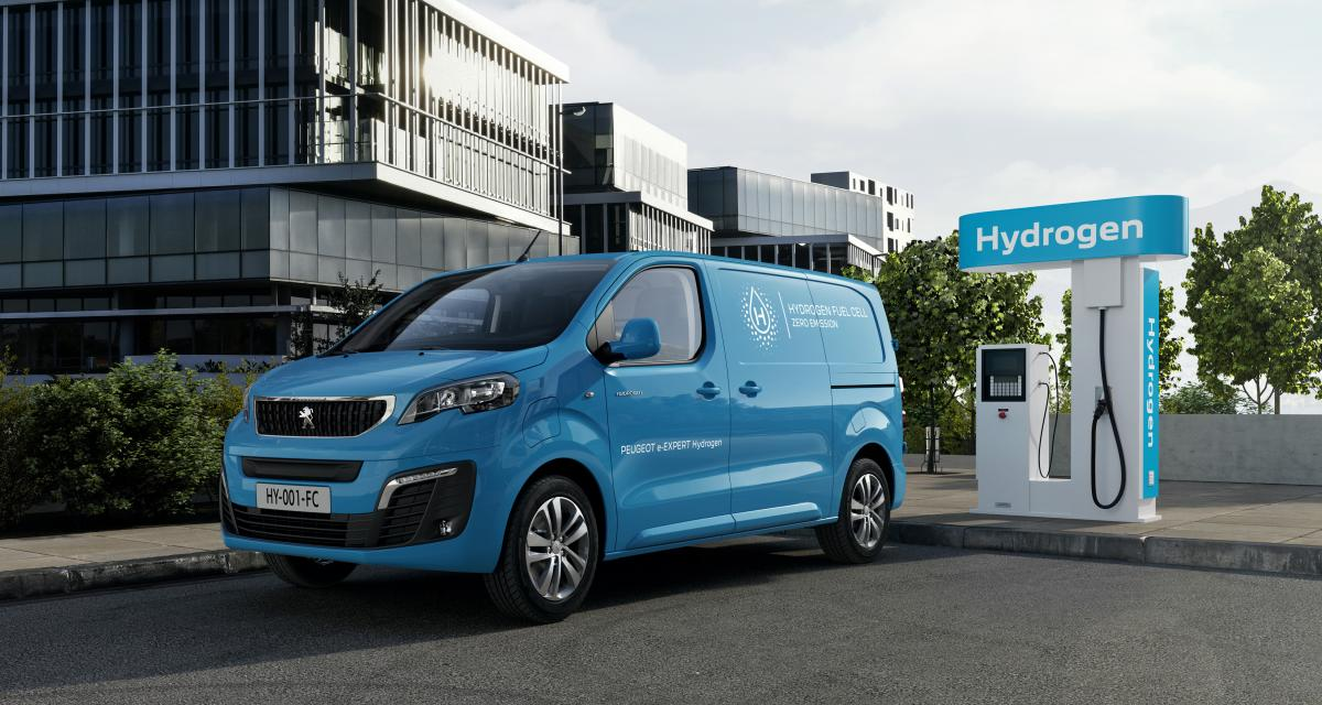 Peugeot e-Expert Hydrogen (2021) : le choix de la pile à combustible