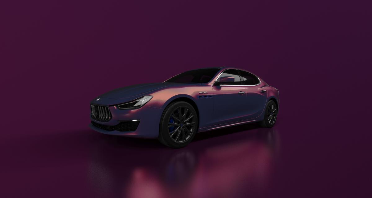 Maserati Ghibli Hybrid Love Audacious : une collab' branchée pour une série limitée