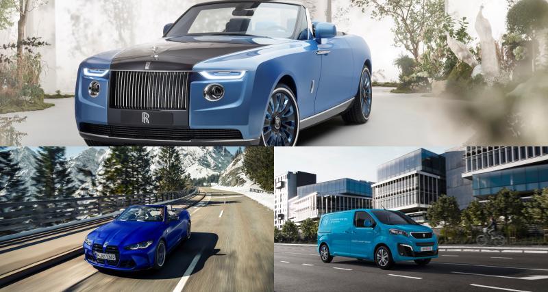 Les nouveautés automobiles de la semaine en images : une Rolls-Royce à 28M$, Cupra Born, Peugeot hydrogène…