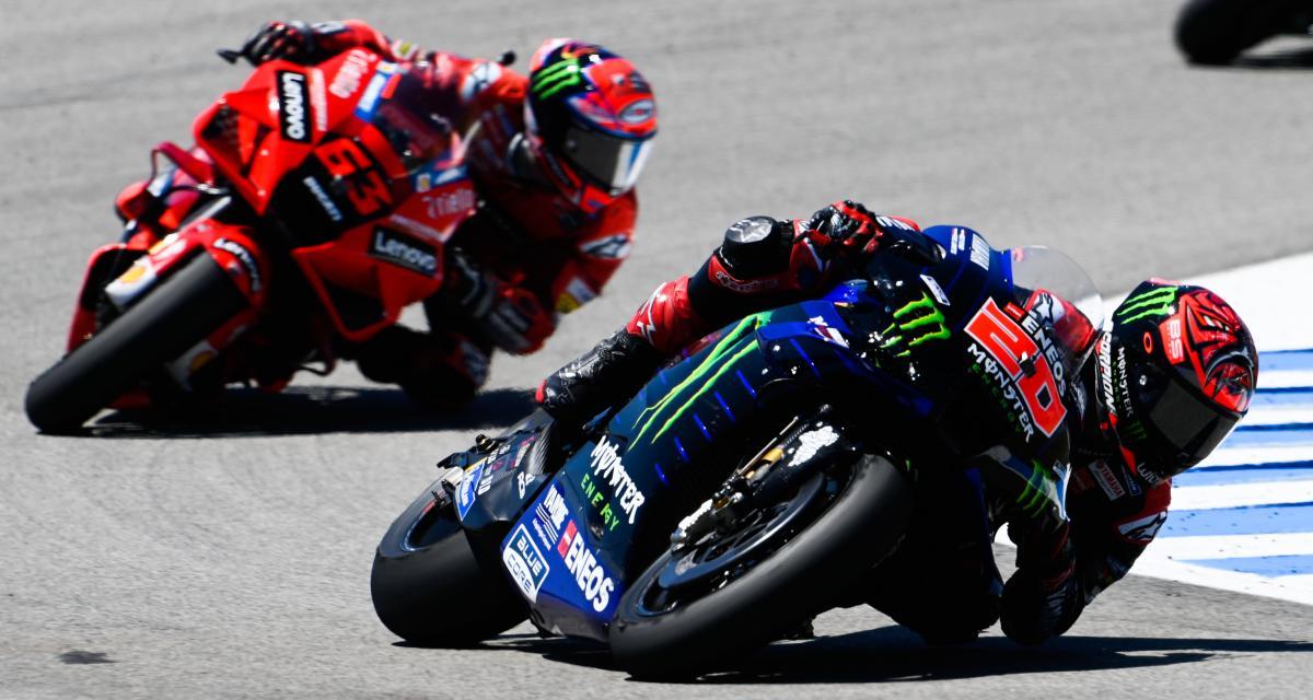 MotoGP - saison 2021 : le classement pilotes