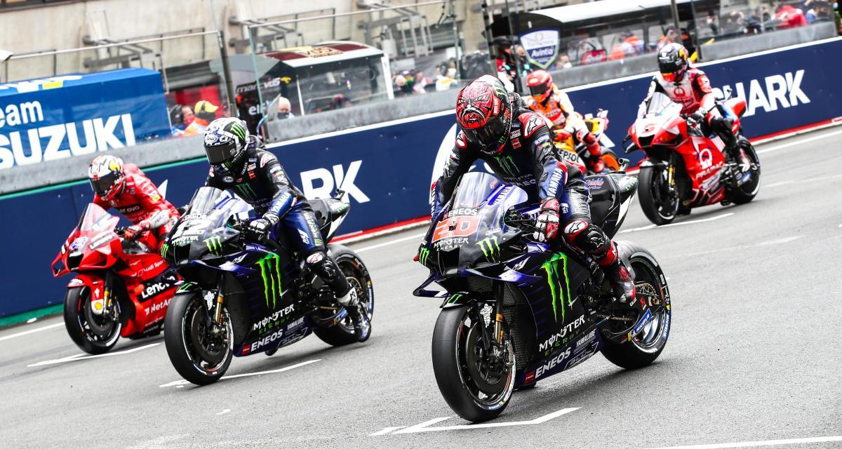GP d'Italie de MotoGP : la grille de départ