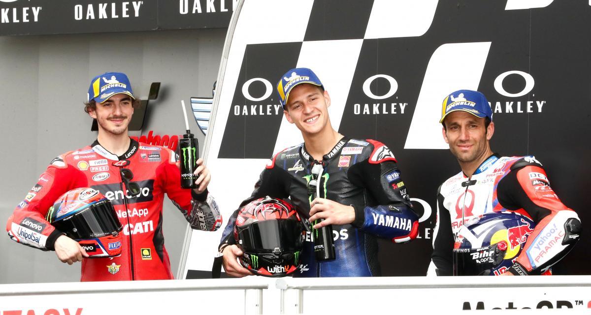 GP d'Italie - Quartararo, Bagnaia, Zarco : voici en première ligne, les protagonistes du championnat 2021 de MotoGP