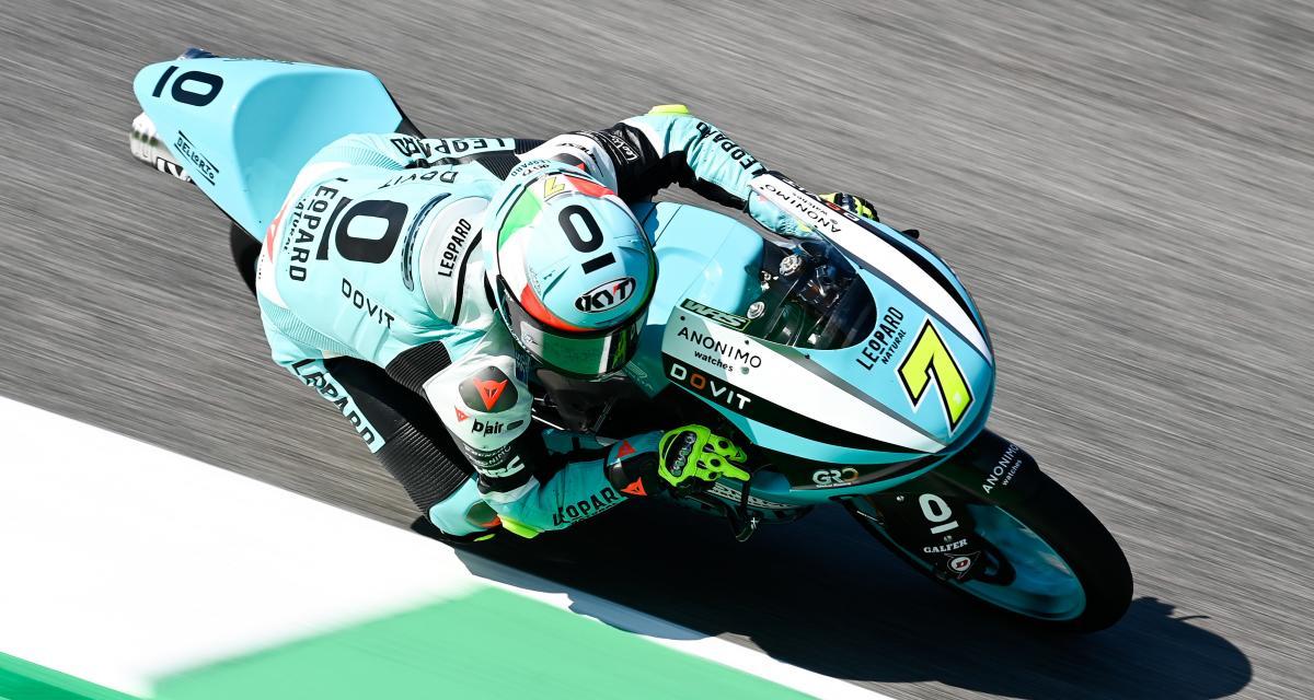 GP d'Italie de Moto3 : le classement final de la course