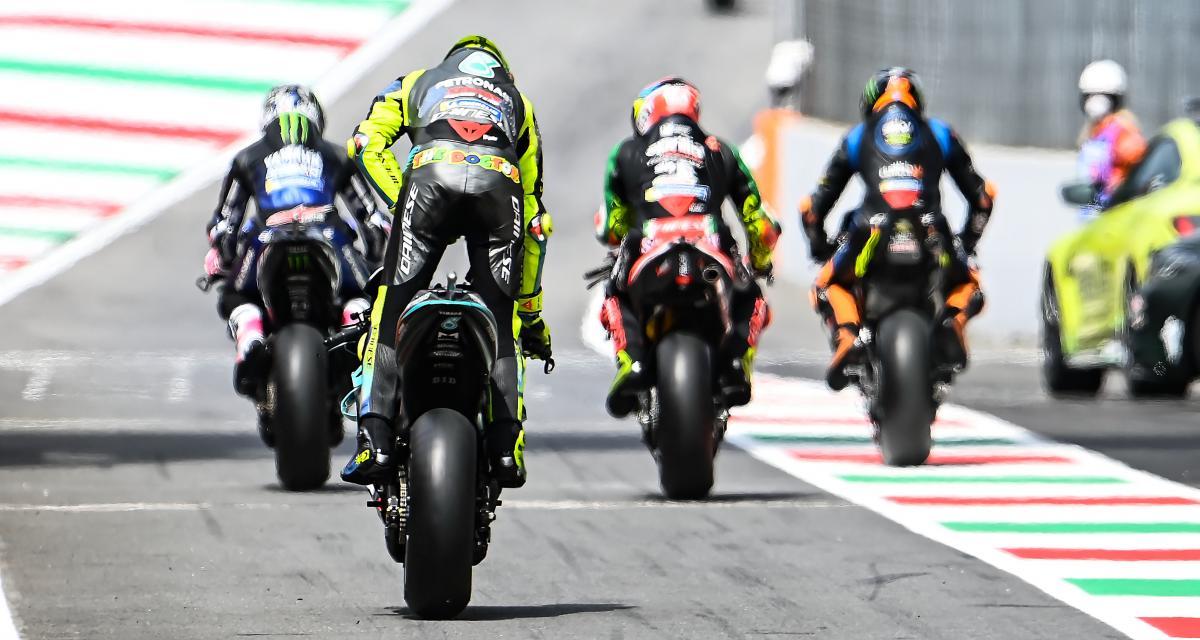 GP d'Italie de MotoGP : la vidéo du départ