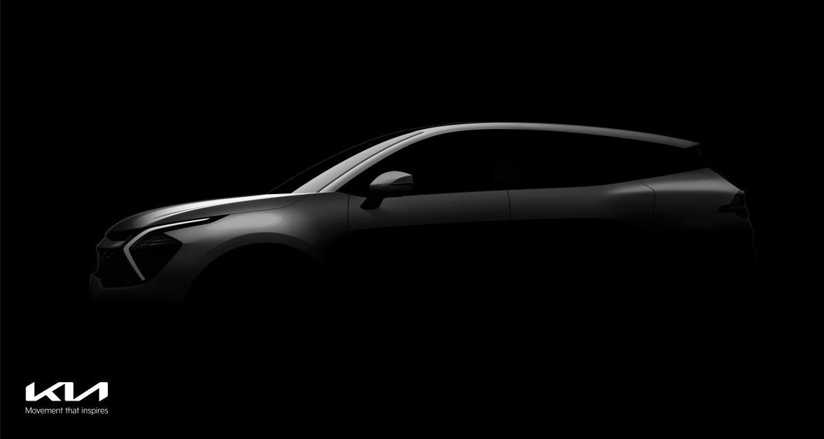 Le nouveau Kia Sportage dévoile déjà ses premières lignes