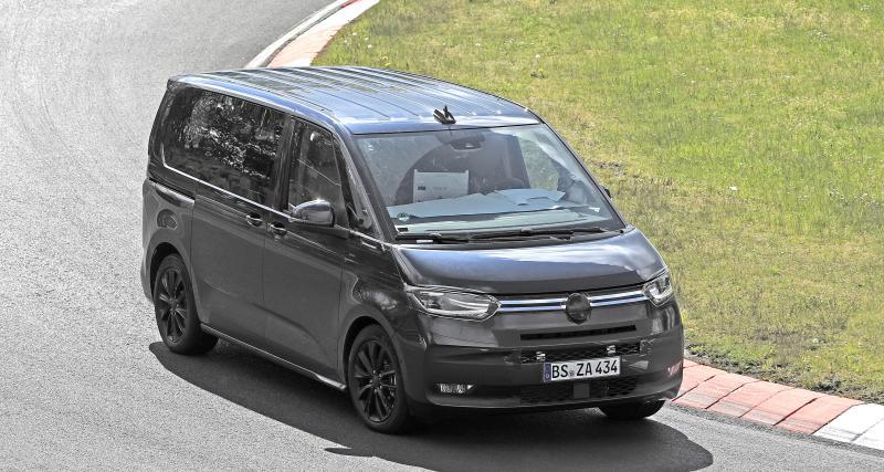 Volkswagen T7 (2022) : la prochaine génération du van allemand se précise