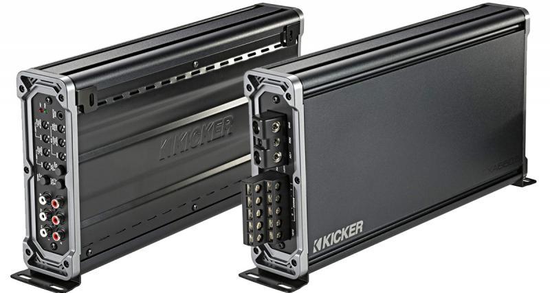Un ampli 5 canaux puissant et fonctionnel chez Kicker