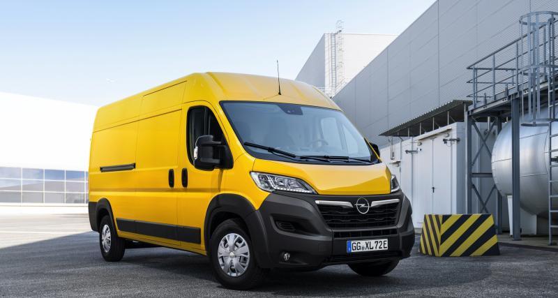 Opel Movano-e (2021) : jusqu'à 224 km d'autonomie pour l'utilitaire électrique gros volume