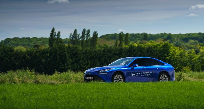 Saviez-vous que la Toyota Mirai avait battu un record du monde avec sa motorisation hydrogène ?