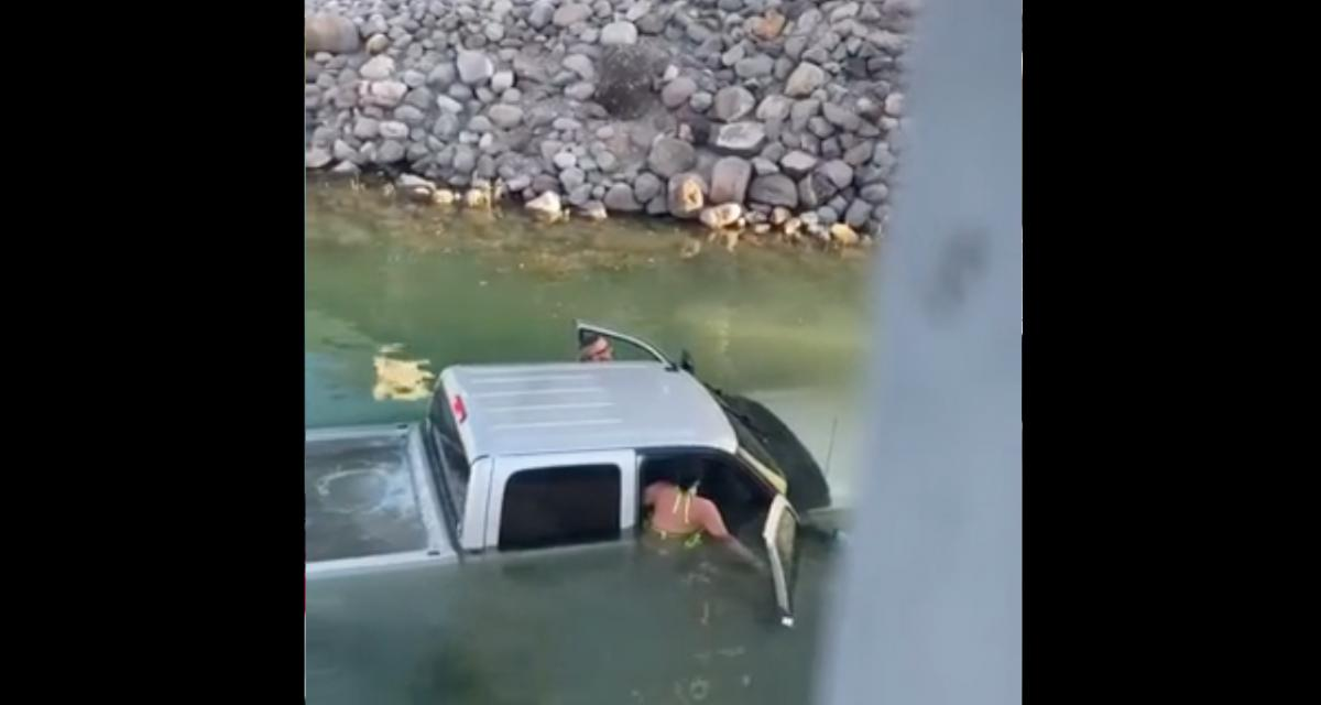 VIDEO - La mise à l'eau ne s'est visiblement pas passée comme prévu