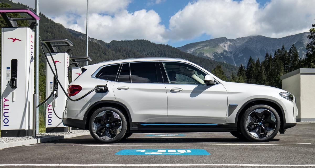 BMW sur le réseau Ionity : le prix de l'abonnement