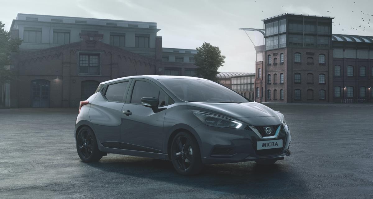 Nissan Micra Enigma (2021) : une citadine sombre et chic en série limitée