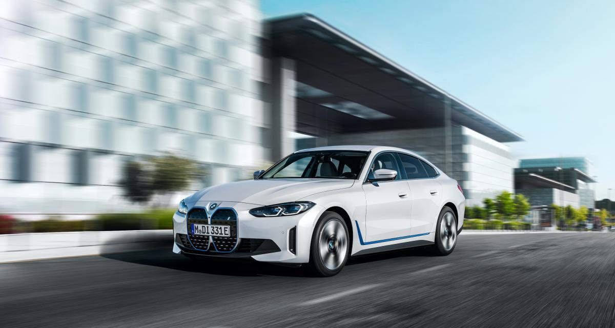 BMW i4 (2021) : autonomie, puissance, prix… les chiffres clés de sa fiche technique