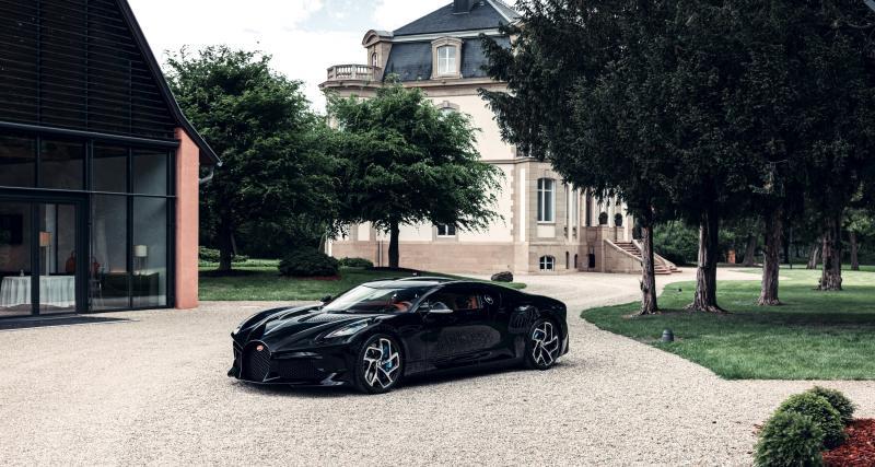 Bugatti La Voiture Noire : à la hauteur de sa prestigieuse inspiratrice ?