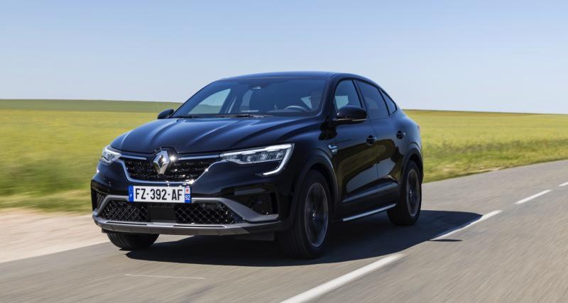 Renault Arkana E-Tech (2021) : les prix du SUV Coupé hybride