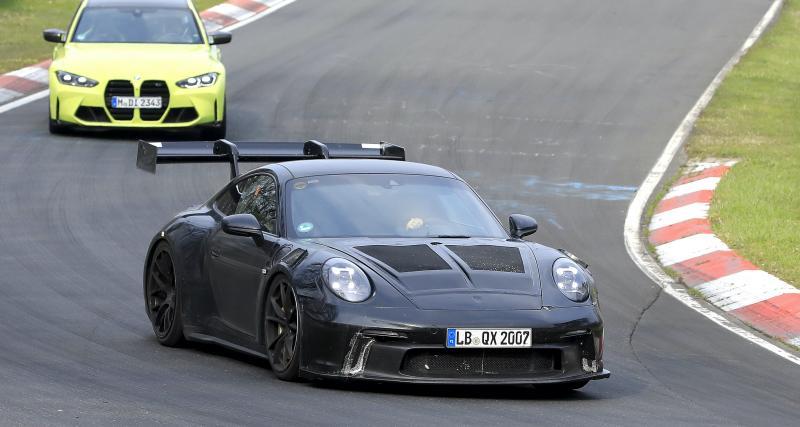 Porsche 992 GT3 RS (2022) : la pistarde allemande s'annonce détonante