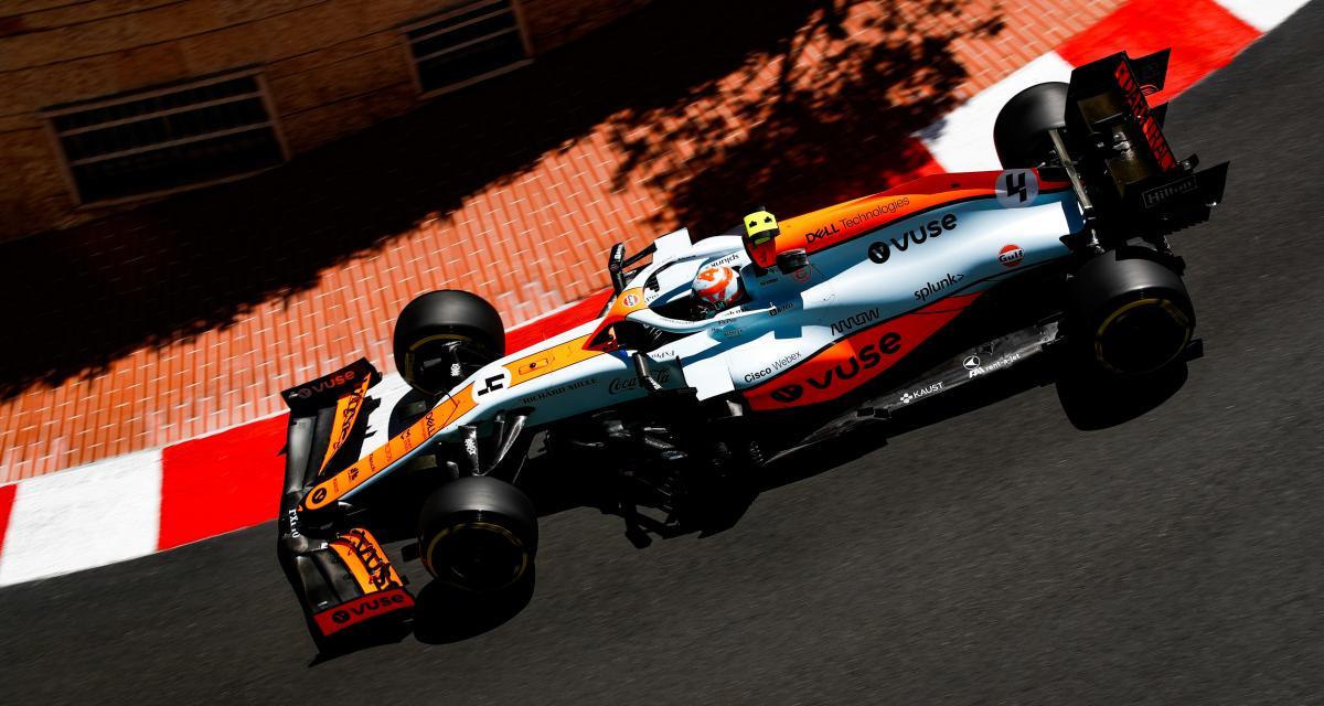 GP de Monaco de F1 : les casques de Ricciardo et Norris vendus aux enchères