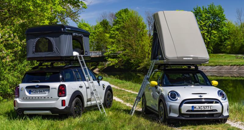 Tente de toit Autohome pour Mini Cooper SE et Countryman