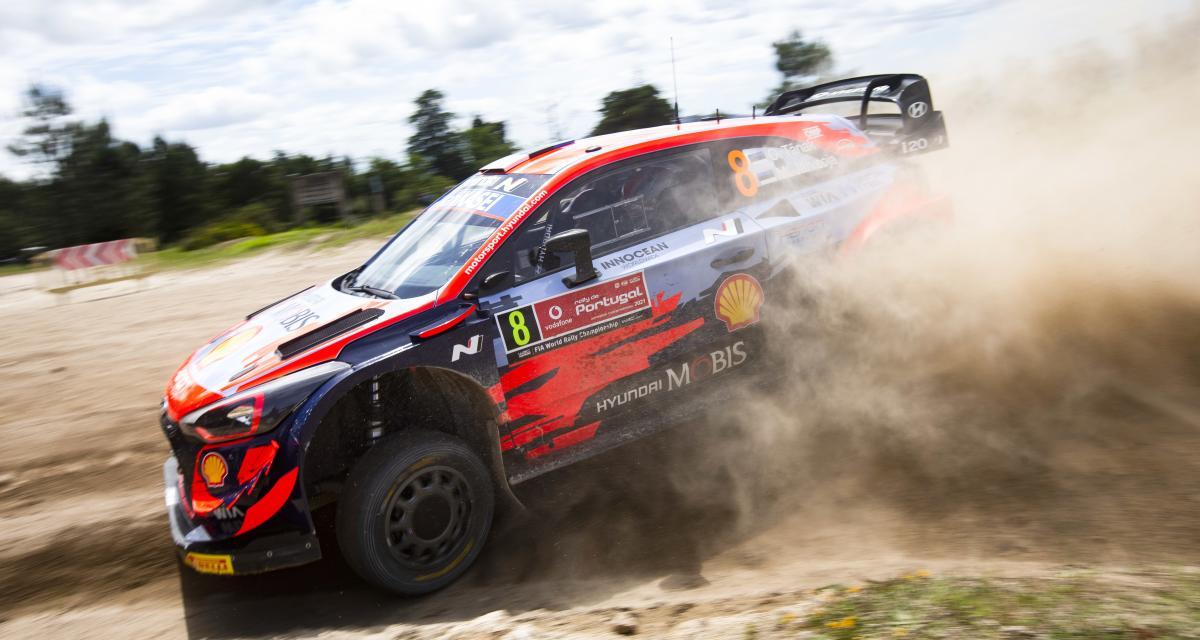 Rallye de Sardaigne : le classement des pilotes après l'épreuve spéciale 4