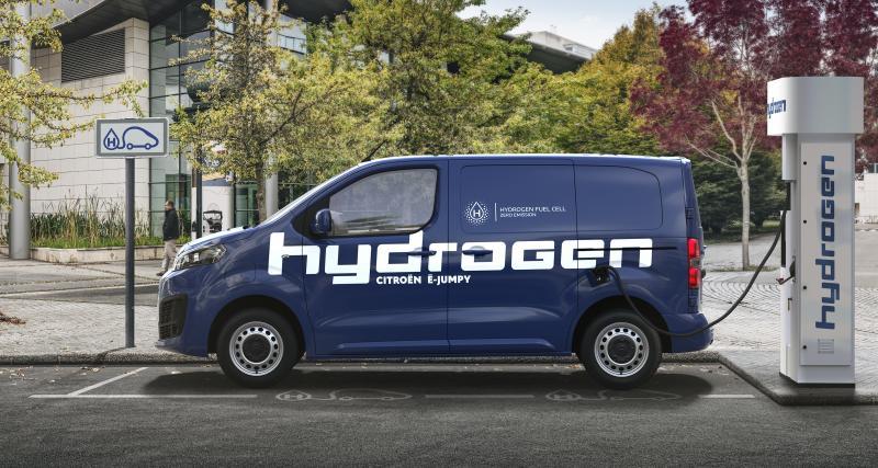 Citroën ë-Jumpy Hydrogen (2021) : la famille des utilitaires à hydrogène s'agrandit
