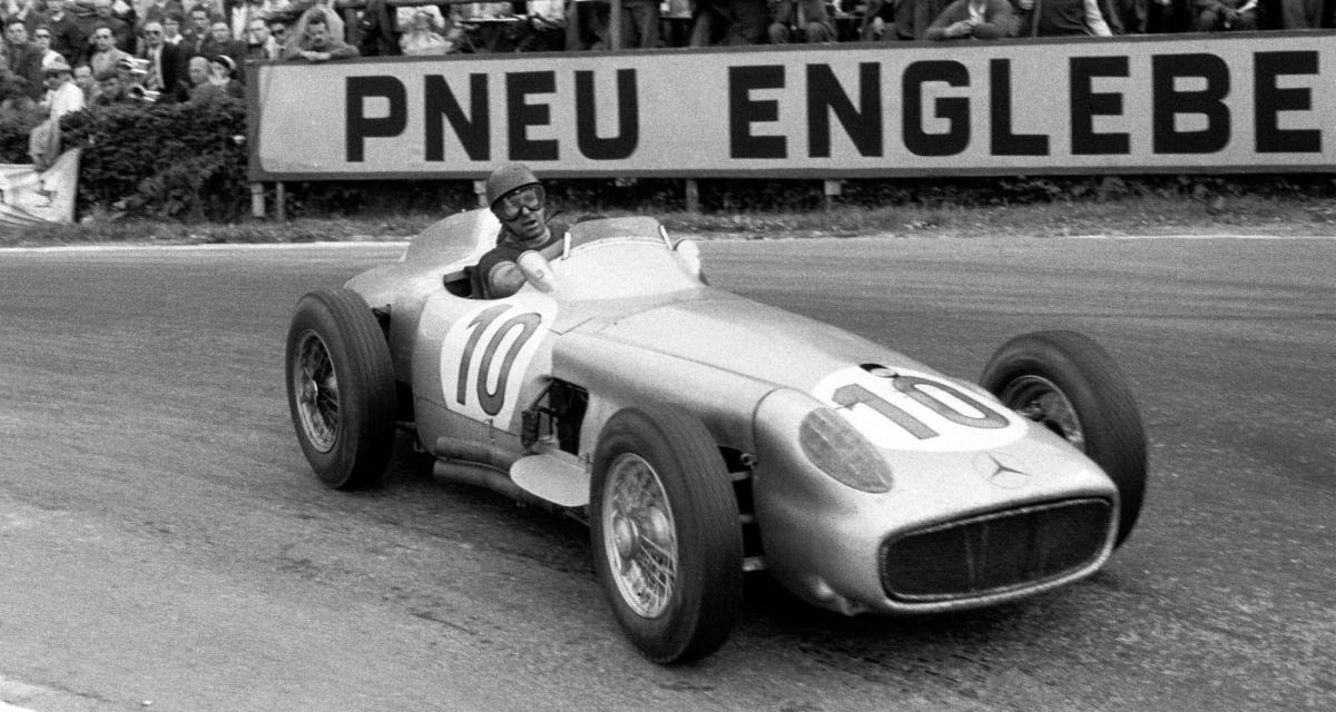 Il y a 66 ans… la 6e victoire de l'écurie Mercedes en F1