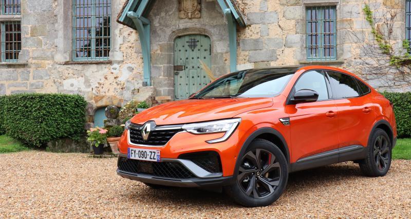 Renault Arkana E-Tech : les images de notre essai du SUV compact coupé et hybride