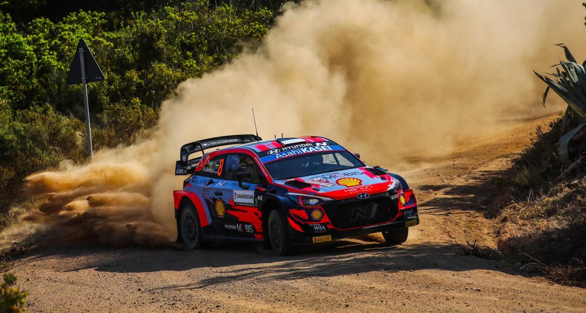WRC - Rallye de Sardaigne : le classement des pilotes après la première journée