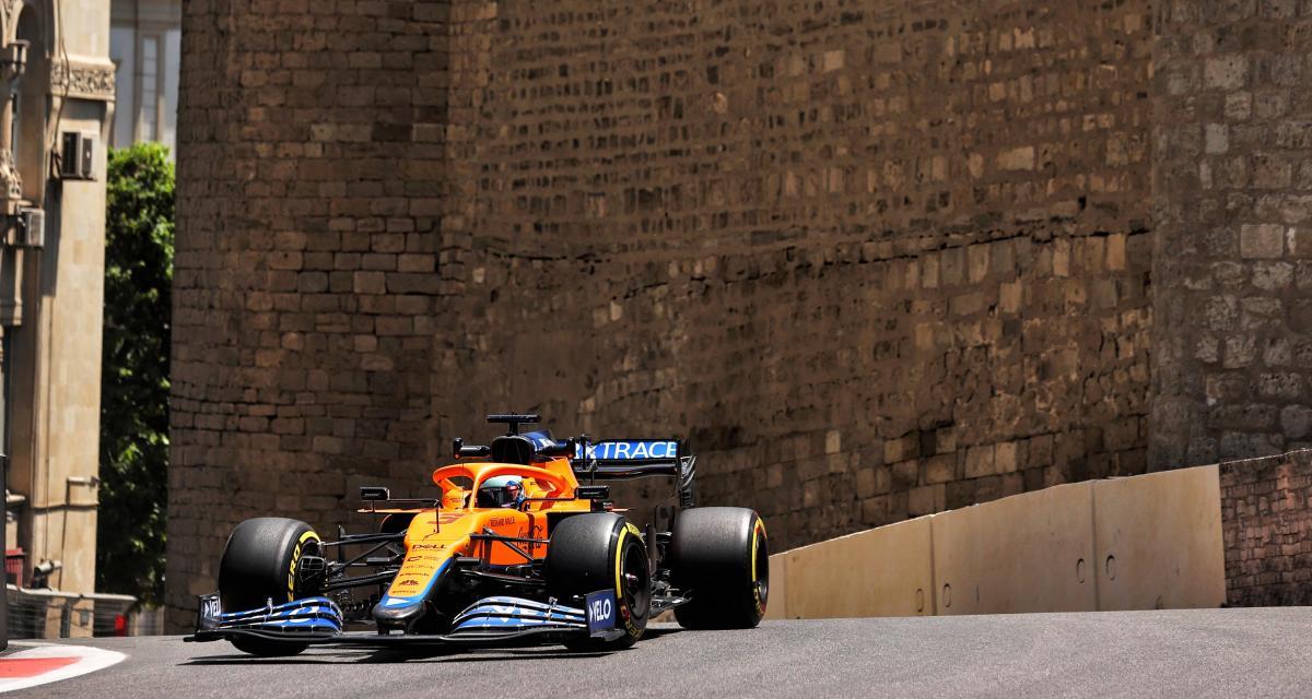 Grand Prix d'Azerbaïdjan de F1 : l'accident de Daniel Ricciardo en qualification en vidéo