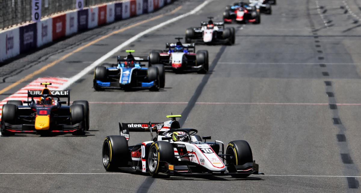 Grand Prix d'Azerbaïdjan de F2 : quel résultat pour Théo Pourchaire lors de la course principale ?