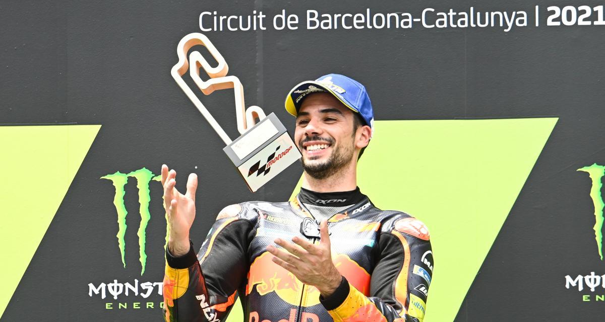 Grand Prix de Catalogne de MotoGP : la réaction en vidéo de Miguel Oliveira après sa victoire