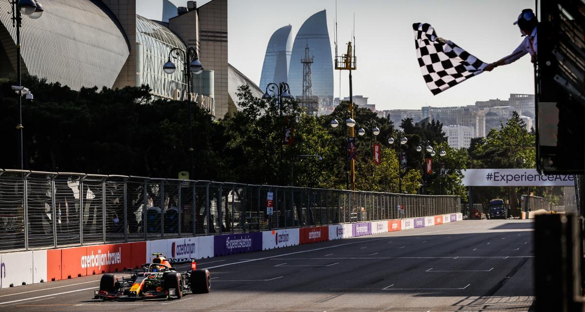 Grand Prix d'Azerbaïdjan de F1 : le classement final