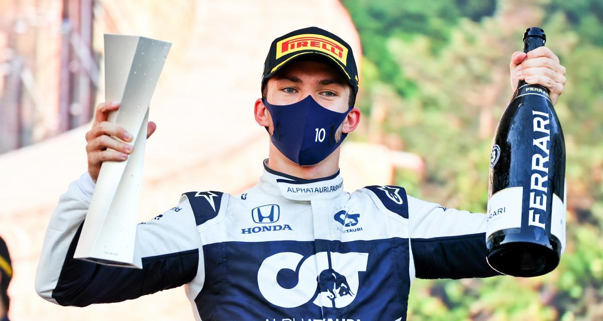 Grand Prix d'Azerbaïdjan de F1 - Pierre Gasly : quel résultat en course pour le pilote AlphaTauri ?