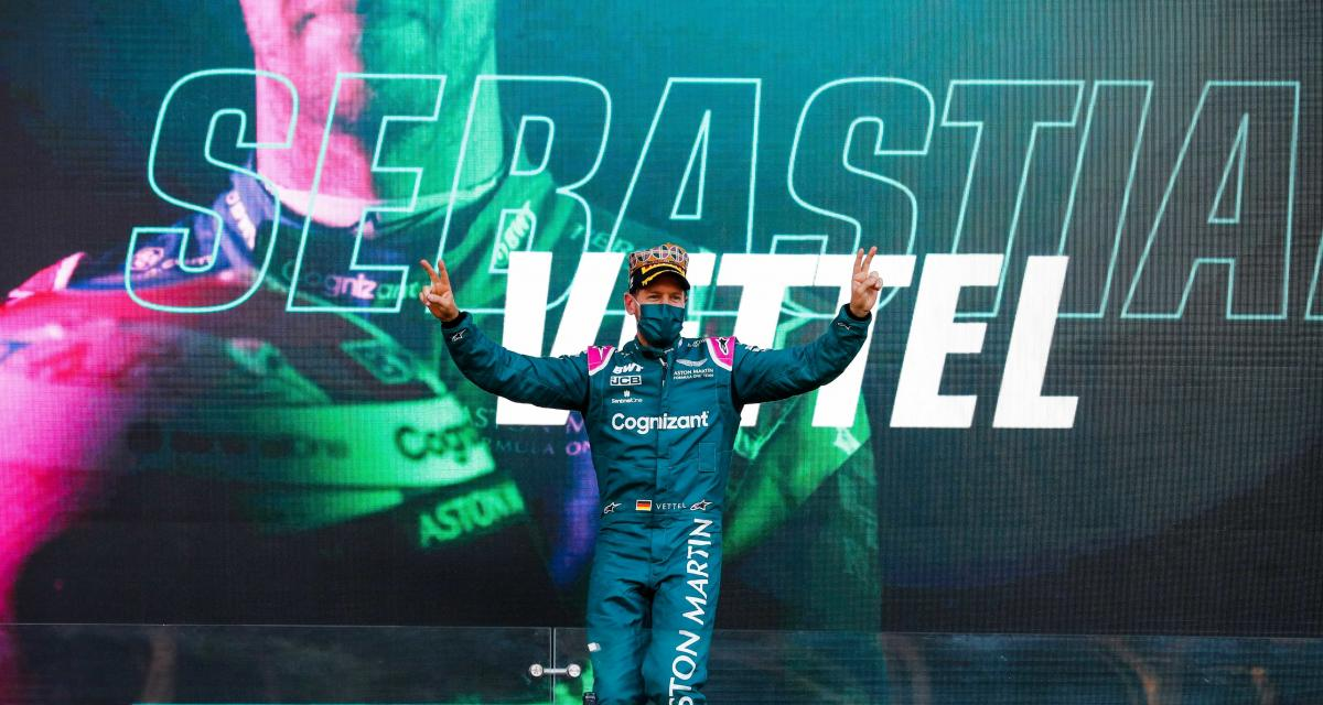 Grand Prix d'Azerbaïdjan de F1 - Sebastian Vettel : la réaction du pilote Aston Martin après sa 2e place