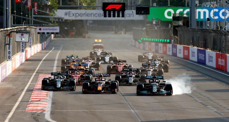 Grand Prix d'Azerbaïdjan de F1 : les temps forts de la course en vidéo