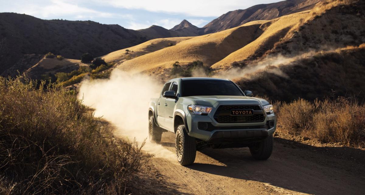 Toyota Tacoma Trail Edition (2022) : un pick-up qui allie style et efficacité