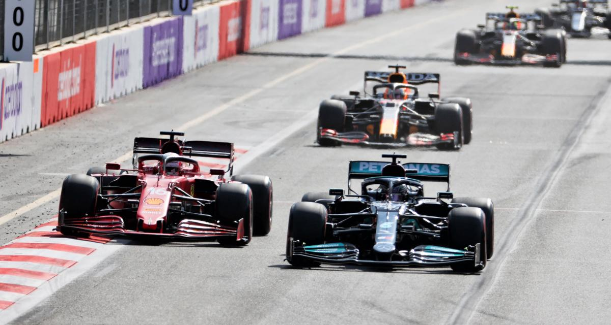Grand Prix d'Azerbaïdjan de F1 : Leclerc parle de l'objet sur la piste qui l'a gêné (vidéo)