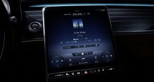 Apple Music intégré au système MBUX de Mercedes