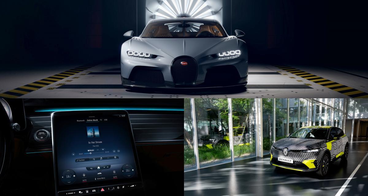 Bugatti Chiron, Apple Music, Renault Megane électrique : retour sur l'actu auto du 8 juin