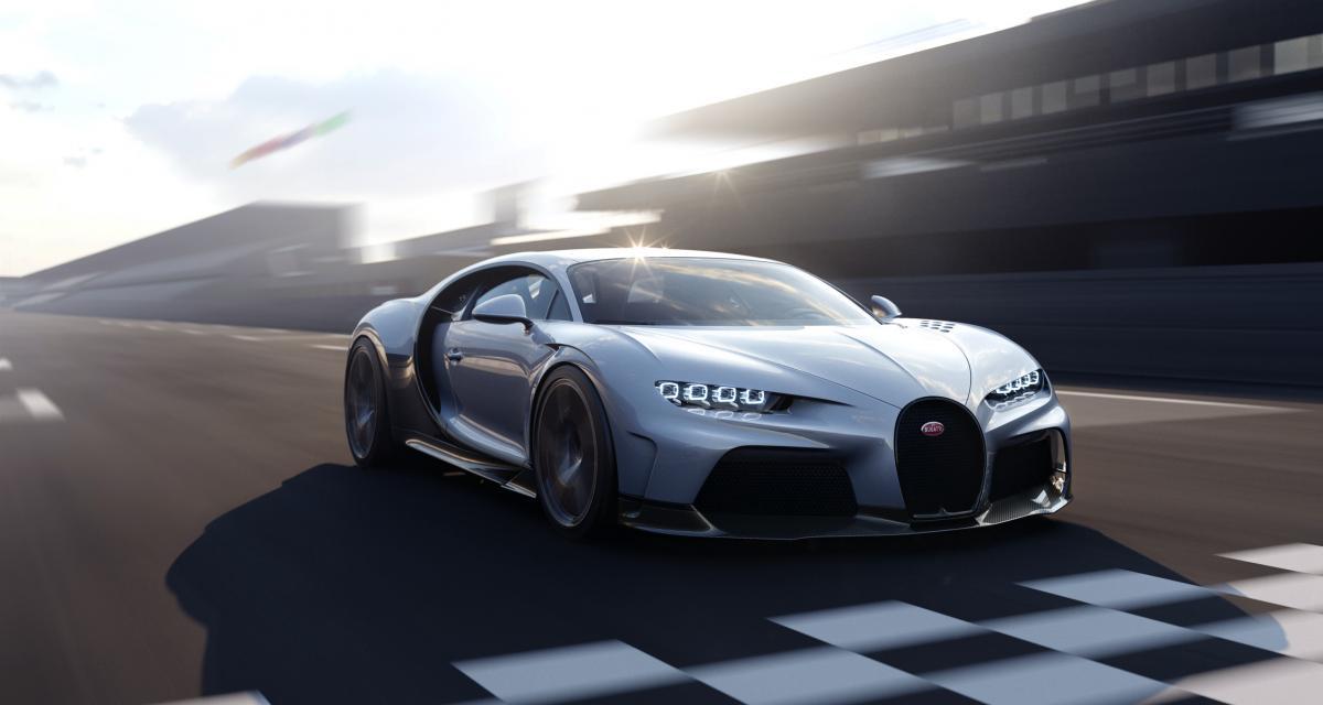Bugatti Chiron Super Sport : la fiche technique de l'hypercar en 7 chiffres