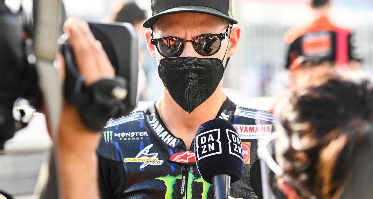 Grand Prix de Catalogne de MotoGP : Fabio Quartararo ironise sur sa double sanction