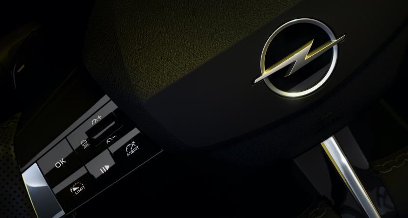 Tout d'une Opel moderne