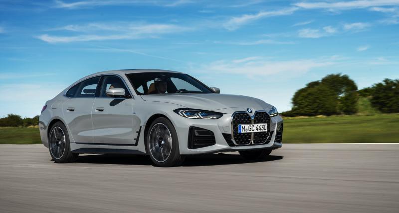 BMW Série 4 Gran Coupé (2021) : la jumelle thermique de la nouvelle BMW i4