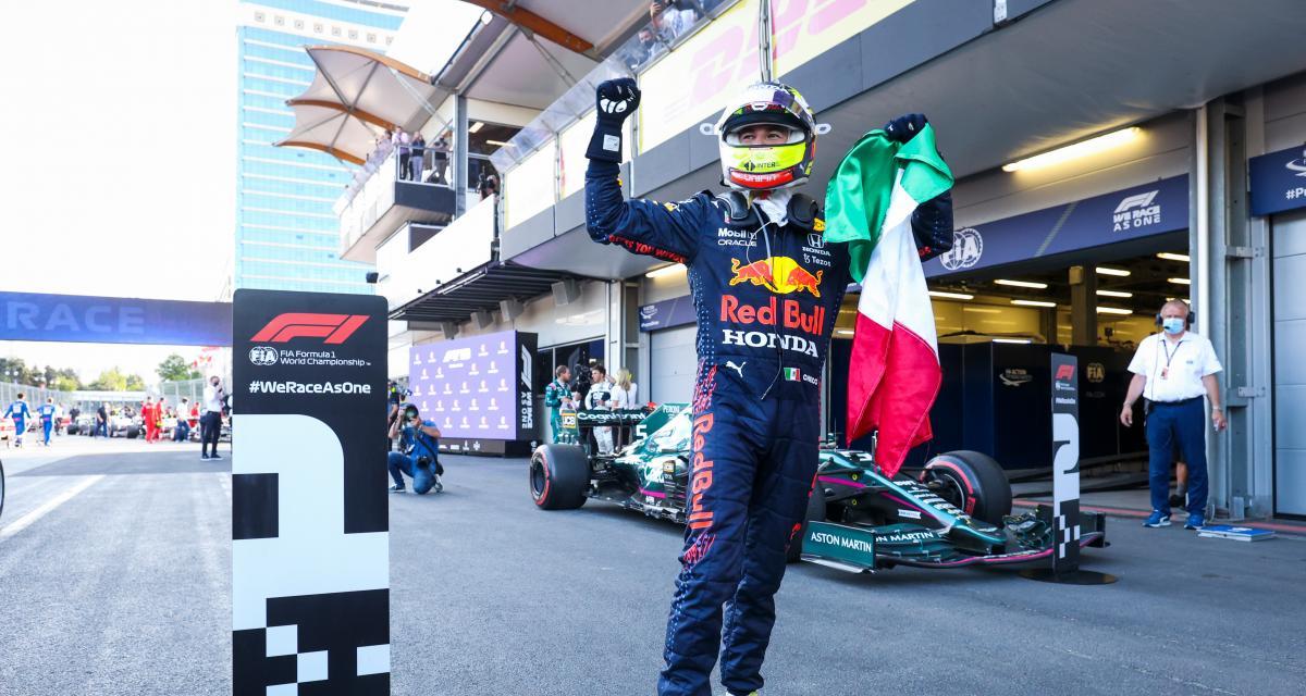 F1 - Red Bull : Sergio Pérez remercie sa famille pour son soutien